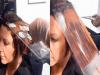 她發明了「IQ200也想不到的超天才染髮方式」,現在網友染髮都拿玻璃片給自己的髮型師了!