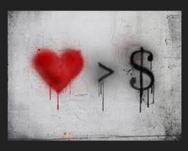 不能上升到金錢的愛,都不是真愛!