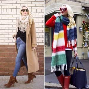 多款圍巾穿搭激升回頭率!抓出圍巾的5個流行趨勢~明星Fu全靠它!