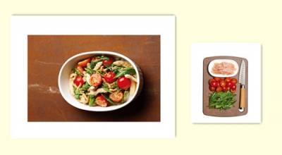 美味又能維持 一生健康的飲食習慣 早餐的果汁及晚餐的沙拉