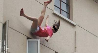 驚!女子從5樓憤而跳下,只因老公說了一句話....