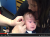 7個月大男嬰因聽力問題裝助聽器,第一次聽到麻麻聲音的反應!!超有愛~~