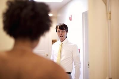 姐妹們,當你們看到「他」的這個表情後,就確認你選對了!