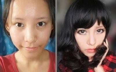 驚!女星可怕素顏照曝光!女人為何要化妝,看完你就明白了!