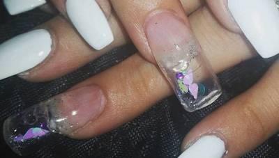 指甲跑出魚啦!!歐美流行新寵,動態指甲簡單DIY!!終於可以當美人魚了!