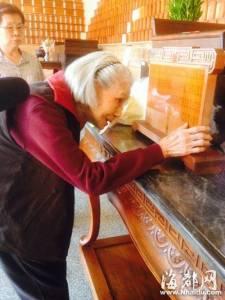 塵封了70多年的愛情,93歲的她終於到了台北忠烈祠見到了丈夫的靈位,了卻了一生夙願!