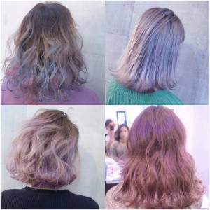 挑染風潮持續熱燒!3位韓流名人超夢幻示範~~來挑染一顆「這樣顏色」的頭吧!