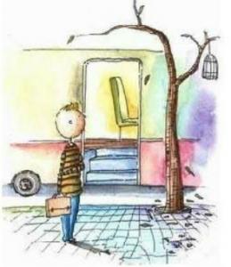 人生像是一部公車,世界不會為了你停止運轉