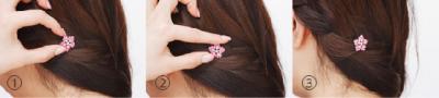 就像頭上開出朵朵小花!夢幻與浪漫感兼具的「耳環髮飾」特蒐│妞新聞