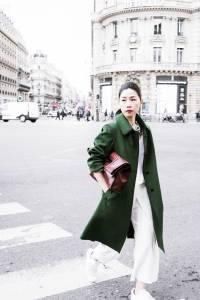 與 Schneiders Salzburg 在巴黎拍時尚大片