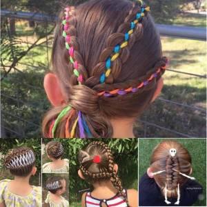 可以當妳女兒嗎?!全世界都在注目的巧手編髮媽咪♡(附影片教學)
