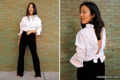 原來「男友襯衫」這樣穿他才會更要想!一個小改變讓性感度提高200 !女生們絕對要學!