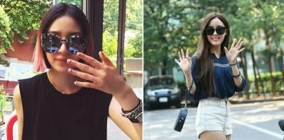 塑造少女時代們媚眼!韓女星們都在用,無論出入機場和私下裝束,這款單品超夯...