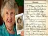 90歲高齡的老婦人,參觀了二戰大兵們遺物的博物館,赫然發現一本他初戀男友的筆記本,看到最後遺言時讓老
