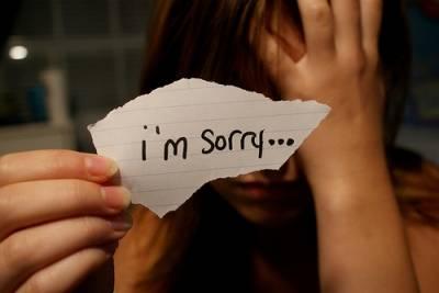 """不是每一句""""對不起"""",都能換來一句""""沒關係"""""""