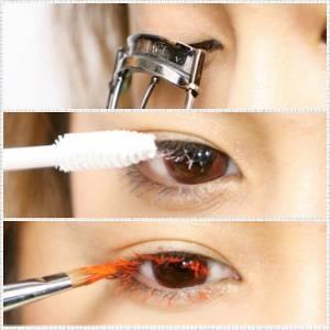 彩色眼妝實戰篇!現在連「睫毛膏」也要上色