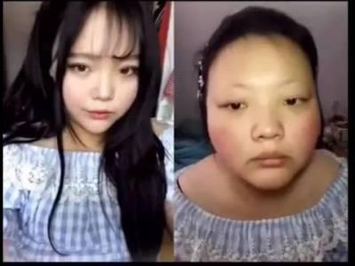 這女孩化妝比整容還有效,最後的成果讓網友驚呼:太厲害了!(視頻)