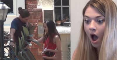 男友在測試影片中「直接帶辣妹開房間」讓她氣炸!但是當她轉身離開之後卻當場傻眼了!