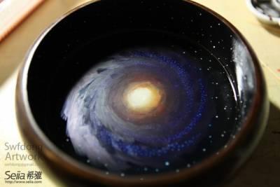 這個宅男為了追女孩子7天為她創造一個小宇宙——迷你銀河DIY分享(我跪了)