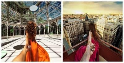 「跟著女友走世界」系列照片中女孩正臉揭曉了!