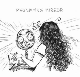 女孩子一定懂!插畫家畫出10件關於「化妝」的那些小事...