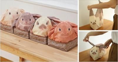 滿滿少女心!日本推出兔子收納袋,讓妳居家也可愛~