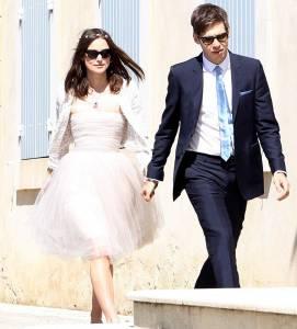 婚紗不必拼華麗!6對超隨性女星的幸福婚禮